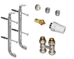 Kit complet raccordement radiateur droit